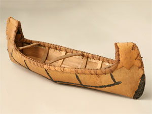 Birch Bark Canoe