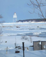 Grand Marais Inner Harbor Light