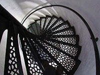 Au Sable Lighthouse Staircase